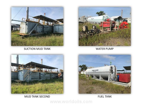 Land Drilling Rig - Trailer Mounted for Sale