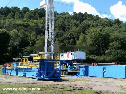 2010 Built Service King 775 Carrier Mounted Drilling Rig