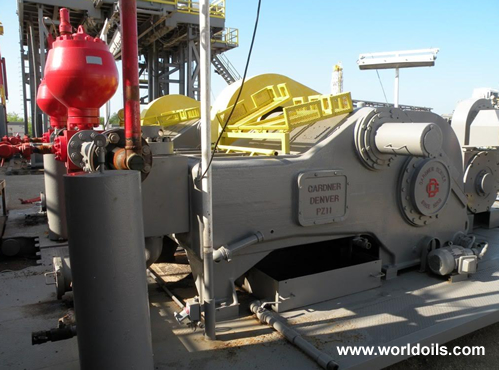 Used IDE AC 1500 Sparta Drilling Rig for Sale