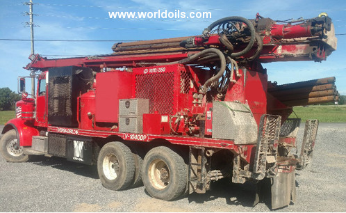 2011 Built Versa Drill Rig for sale