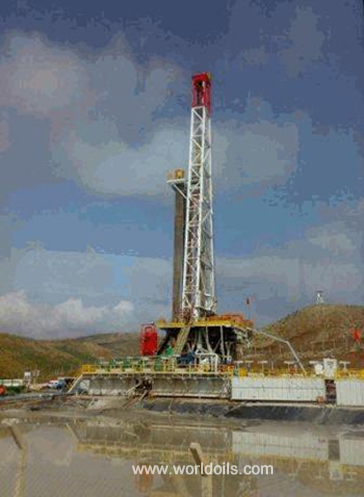 3000HP Swing Lift Triple Drilling Rig for sale