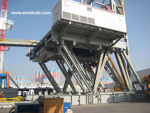 VFD Land Rig - 3000hp - for Sale