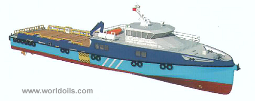 Newbuilding 40M Crew Boat / Utility Boat for Sale