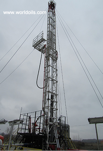 650HP Carrier Mounted Drilling Rig for Sale