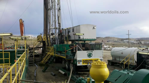 Carrier Mounted Drilling Rig
