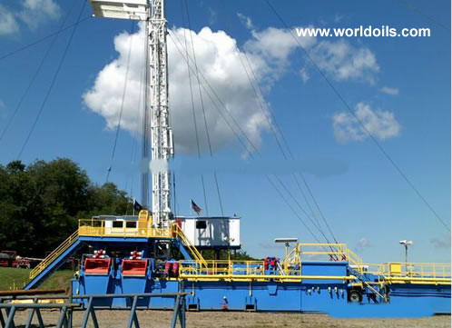 750 HP Carrier Mounted Drilling Rig for Sale in USA