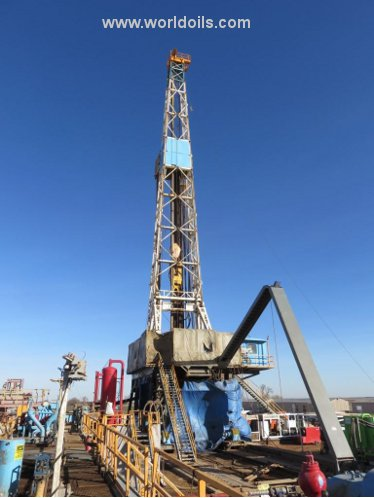 Drilling Rig - National 610E for Sale