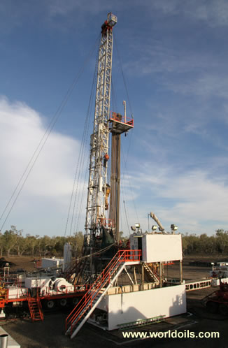 Mechanical Drilling Rig - 750 HP - for Sale
