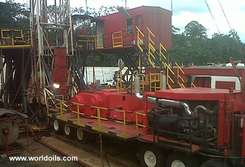 Ingersoll Rand - 750hp - Trailer Mounted Drilling Rig