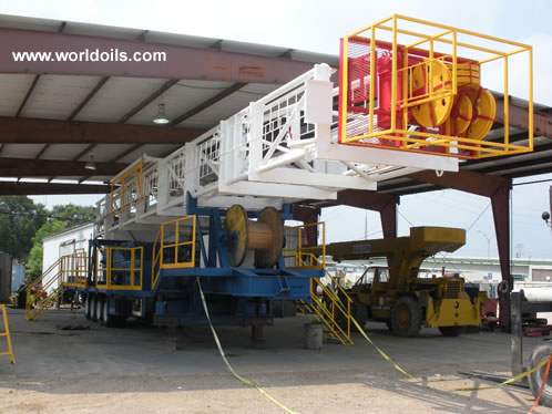 Reconditioned 900 hp Trailer Mounted Drilling Rig