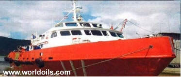 1984 Built Aluminium Crew Vessel for Sale