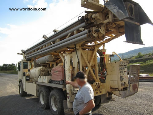 Used Drilling Rig 2005 Atlas Copco T4W