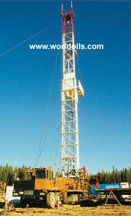 BW Rig Alco Double Used Workover Rig - 4200m For Sale