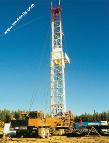 Workover Rig BW ALCO Double - 4200 m - for sale