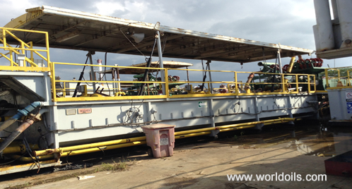 Used 550HP Trailer Mounted Drilling Rig - for Sale