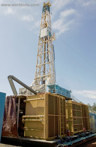 Oilwell E2000 Drilling Rig for sale