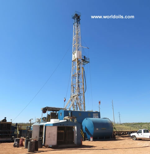 Brewster N42 900 HP Mechanical Drill Rig for Sale
