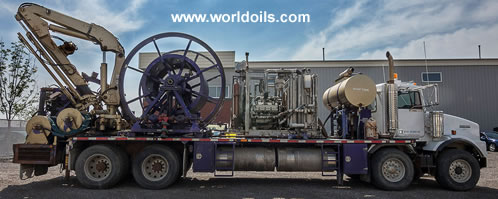 Coiled Tubing Unit for Sale