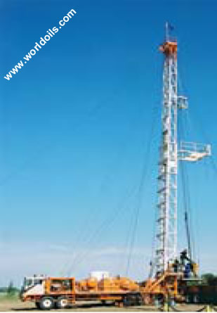 Workover Rig- Cooper LTO 250 Double (3000m) -  For Sale