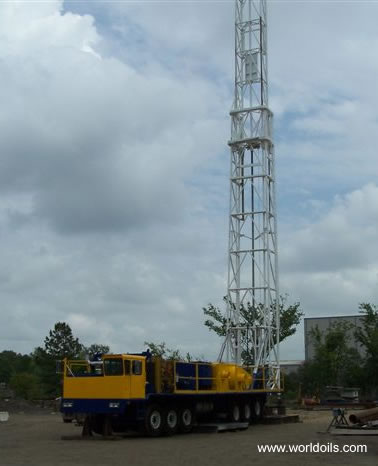 Cabot 750 Mobile Carrier Rig - for sale