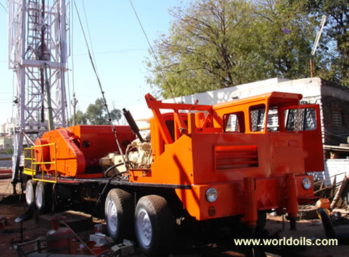 Cardwell 50MT R2 Workover Rig for Sale