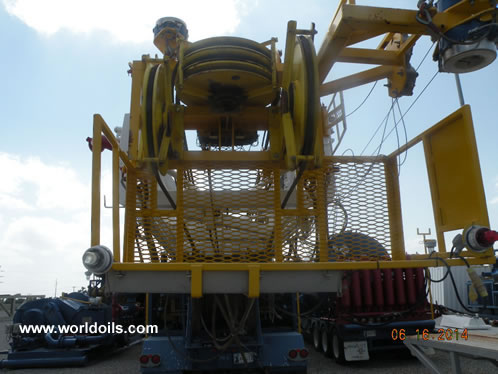Carrier Mounted Drilling Rig for Sale in USA