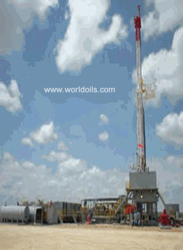 1000Hp Parallelogram Style - Telescopic Mast Double Rig