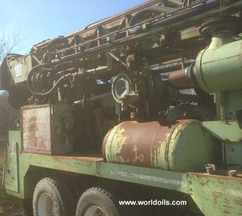 Chicago Pneumatic Drilling Rig for Sale