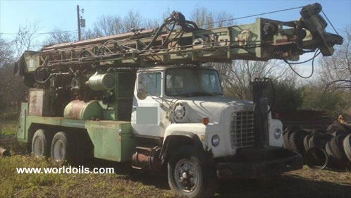 Chicago-Pneumatic 650 Drill Rig for Sale