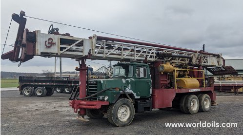 Chicago-Pneumatic 7000 Top Head Drive Rotary Drilling Rig - For Sale