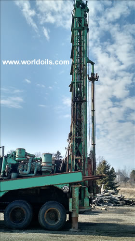 Chicago-Pneumatic 650 Used Drill Rig