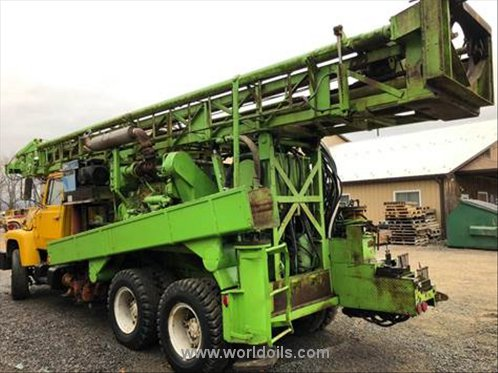 Chicago Pneumatic 650 Drilling Rig - 1972 Built for Sale