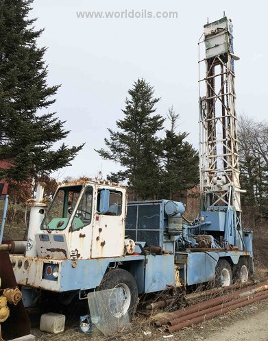 Chicago Pneumatic 650 S/S Drilling Rig for Sale