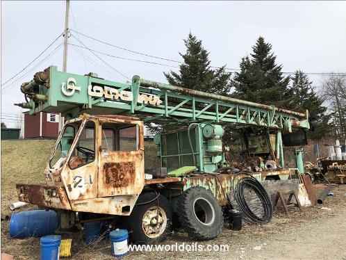 Chicago Pneumatic 650 S/S Drilling Rig - For Sale