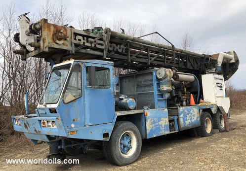 Chicago Pneumatic Drilling Rig - 1978 Built - For Sale