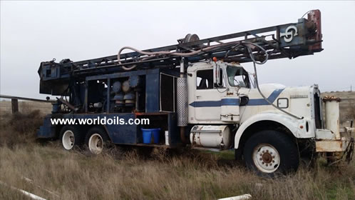 Chicago Pneumatic T650 Drill Rig for Sale