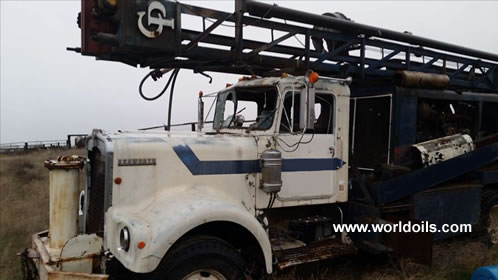Used Chicago Pneumatic Drill Rig for Sale