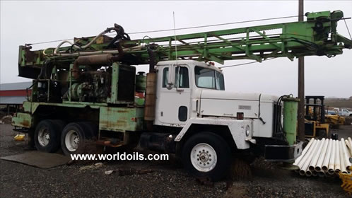 Chicago Pneumatic T650W Drill Rig for Sale