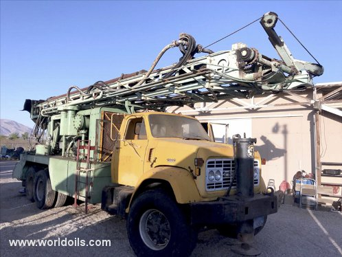 Chicago Pneumatic T670W Drilling Rig - For Sale