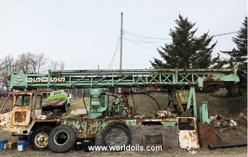 Chicago Pneumatic Used Drilling Rig for Sale