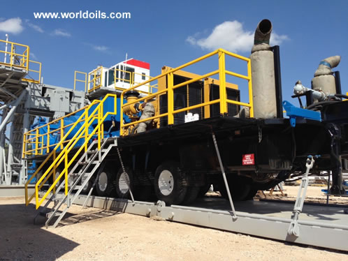 Chinese RG 1300 Triple - Trailer Mounted Mechanical Drilling Rig - for Sale