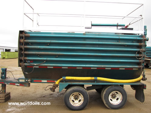 4 mobile coil tubing catch tanks for Sale
