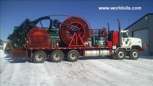 Used Coiled Tubing Drill Rig