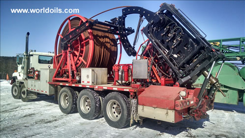 2002 Built Coiled Tubing Drill Rig for Sale in USA