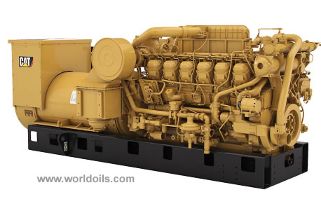 Caterpillar Power Generation Station 3MW Net - for Sale