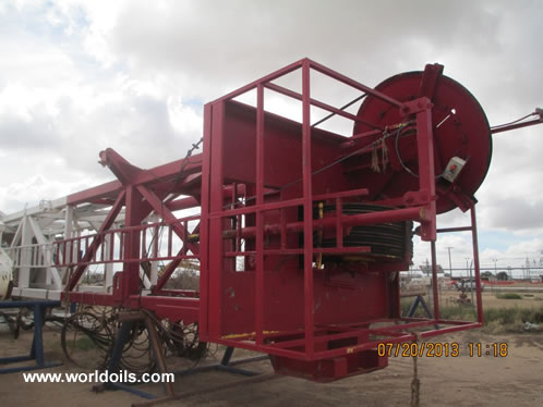 Continental Emsco A550 Used SCR Electric Drilling Rig for Sale