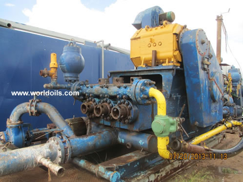 700 hp Continental Emsco Drilling Rig for Sale