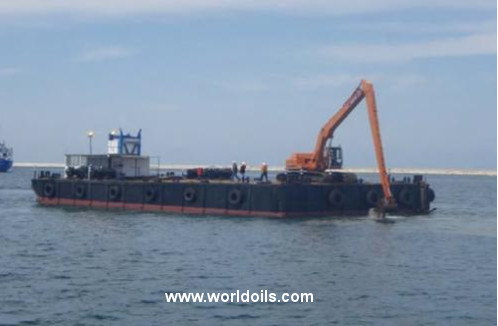 Crane Barge - 28m - For Sale