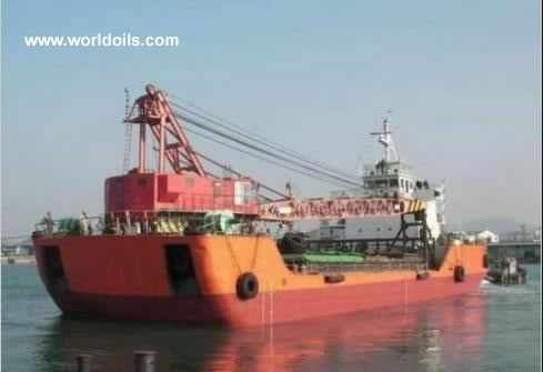 Crane Ship Barge for Sale