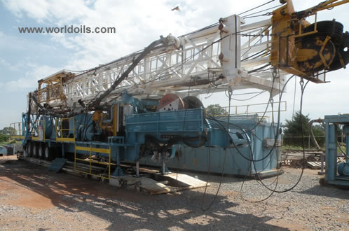 Crown Trailer Mounted Drilling Rig for Sale
